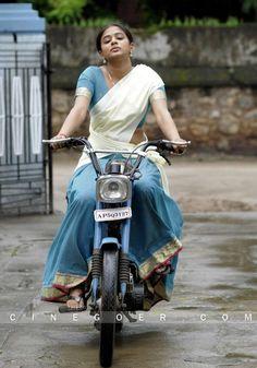 kerala girl in traditional half saree
