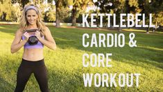 30 Minute Kettlebell Cardio Core Workout--Blast Fat and Sculpt Abs - YouTube