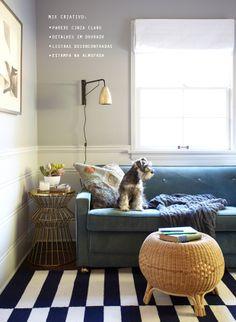cozy living room #decor #living #navy