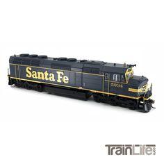 HO Scale: F45 - DCC Ready - Santa Fe - Pinstripe