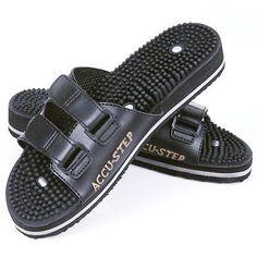 c6803d5dbdb Accu Step Ultimate Massage Sandals - Reflexology XL Men11-12 with MAGNETS  Health