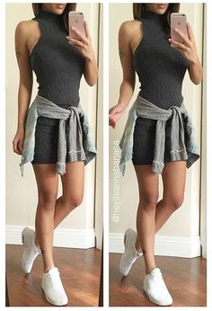 Sleeveless High Neck Knit Bodycon Dress