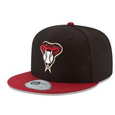 d8b5e6d2e3298 Youth Arizona Diamondbacks New Era Black Red Diamond Era 59FIFTY Fitted Hat