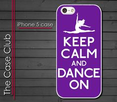 iPhone 5 Case  Keep Calm and #Dance On by TheCaseClub, $18.95