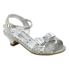 WonderKids- -Toddler Girl's Dress Shoe Quintinala - Silver