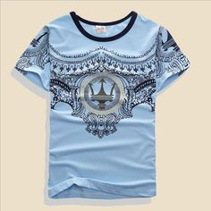 For 7-14 Years Old Fashion T-shirt