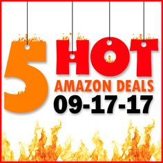 ►► 5 HOT AMAZON DEALS – 9/17/17 ►► #Amazon, #Bargain, #Clearance, #Closeout, #DailyDeal, #Dealoftheday, #Deals, #Discounts, #Frugal, #FrugalFind, #HotBuys, #LowestPrice, #Sale ►► Freebie Depot
