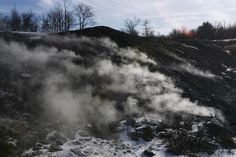 Centralia - Town Atop a Mine Fire in Pennsylvania, went there years ago with 2 of my kids