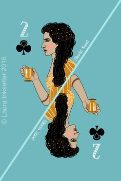 2 of Clubs - Ellaria Sand Game Of Thrones Cards, Got Game Of Thrones, Game Of Throne Actors, Game Of Thones, Ultimate Games, Valar Dohaeris, Playing Card Games, Movies And Series, Game Design