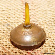 Vintage Pfaff Sewing Machine Oil Can - Farm Tool