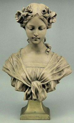 Густав Ван Варенберг (1873-1927) - скульптор, создатель женских бюстов в стиле арт-нуво
