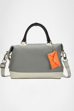 dvf sporty new drew coated canvas bag