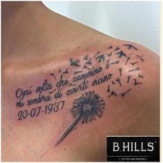 #letteringtattoo #lettering #tattoo #dandeliontattoo #dandelion #swallowtattoo #swallow #calligraphy #BhillsTattooCompany #LadyOktopusTattooArtist #larabhills #tattooartist