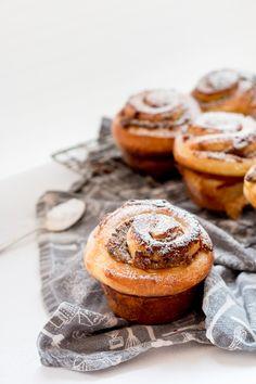 Cinnamon, Date and Walnut Brioche