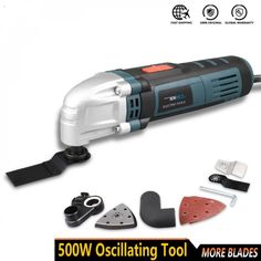 Multi-function Electric Oscillating Trimmer Tool, Free shipping option to most countries worldwide, secured payment and money back guarantee. 10% discount for loyal customers. For best shopping experience visit us, trainedtools.com Used Power Tools, Carpenter Tools, Electric, Countries, Money, Free Shipping, Shopping, Products, Carport Garage