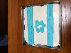 My mum has been making this cake every year since I was a kid!   Happy 64th Independence day Israel!