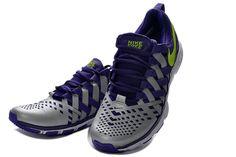 Nike Free Trainer 5.0 Menn Court Lilla Volt Reflekterende S?lv