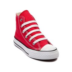 Shop for Youth Converse All Star Hi Sneaker in Red at Journeys Kidz. Shop today for the hottest brands in mens shoes and womens shoes at JourneysKidz.com.Classic Converse Hi Top for the younger courtsters. You can never be too old or young for the originals.