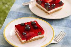 Glazed Berry Squares Recipe - Kraft Canada