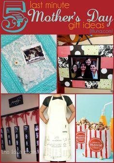 5 last minute Mothers Day gift ideas - just in case you're unprepared! { lilluna.com }
