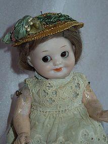 "SWEET 7"" Armansd Marseille 323 Googly Girl - Gandtiques #dollshopsunited"