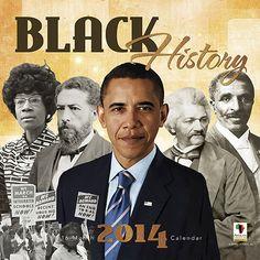 WC121 Black History 2014 Calendar | AAE