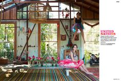 photographer, Shannon Fricke  home of Sonya From Jatana Interiors...    Who wouldn't adore an indoor swing?