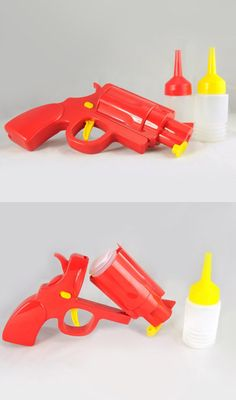 Condiment Gun for Mustard & Ketchup    ( http://shop.uncovet.com/condiment-gun?ref=hardpin_type129#utm_campaign=type129_medium=HardPin_source=Pinterest )