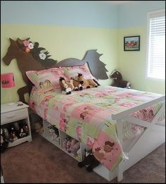 horse theme bed-horse theme bedrooms