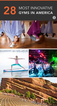 28 gyms that are unlike anything you've seen before! #fitness #exercise #innovative