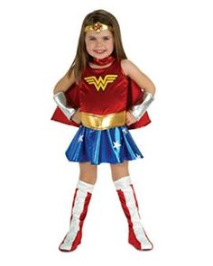 Rubies Wonder Woman Toddler Costume- I want to be wonder woman for halloween she is incredible! #DCcomics #wonderwoman #halloween #halloween2017 #superhero