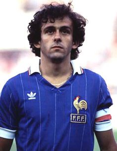 Michel Platini - Legends of the Football World Cup Football Icon, Best Football Players, Retro Football, Football Uniforms, Adidas Football, World Football, Vintage Football, Sport Football, Football Kits