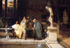 Sir Lawrence Alma-Tadema (Sir Lawrence Alma Tadema): A Roman Art Lover