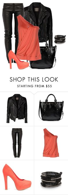 """""""Untitled #353"""" by bamilliana ❤ liked on Polyvore featuring MuuBaa, Burberry, Preen, Toy G., JustFab and Chan Luu"""