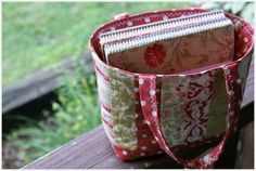 Friendship bag tutorial from psiquilt blog.  So cute & easy!  I made one last night!