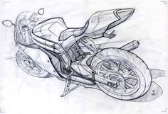 sketches and drawings Bike Sketch, Car Sketch, Car Drawings, Drawing Sketches, Bike Drawing, Car Design Sketch, Design Art, Motorbike Design, Sketching Techniques