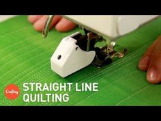 How to Quilt Perfectly Straight Lines Every Single Time! – Crafty House