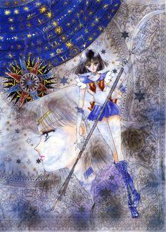 Naoko Takeuchi, Bishoujo Senshi Sailor Moon, Sailor Saturn, Hotaru Tomoe