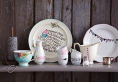 Handmade - Artikel: DIY Projekt selbstbemaltes Porzellan (tolle Schritt für Schritt Anleitung + süße Motive)