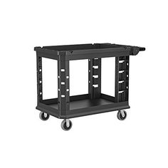 Amazon.com: RP New 330lbs Folding Platform Cart Dolly Warehouse Moving Push Hand Truck Heavy Duty Flat Foldable Portable Transport Loads Trolley Luggage Carrier: Home Improvement