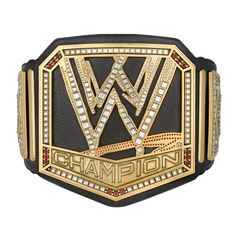 <p>Molded from the actual handmade belt, our commemorative belt plates are made from a high quality acrylic plastic and are an exact-scale replica of the ones that are being defended on TV. Wwe Championship Belts, World Heavyweight Championship, Wwe Logo, Wwe Raw, Wwe Belts, Wwe Action Figures, Andre The Giant, Stone Cold Steve, Wwe World