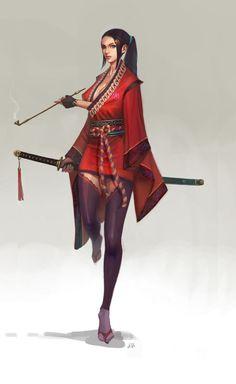Image result for steampunk samurai jack