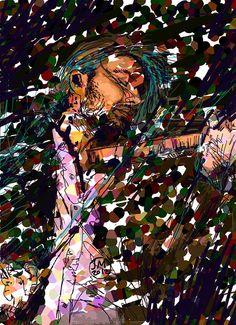 David Garrett by jafethmariani on Etsy, $40.00