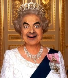'Political Drag - Open photoshop contest is now closed. Mr Bean Photoshop, Photoshop Pics, Mr Bean Funny, Mr Bean Memes, Photo Star, Nerf Gun, Funny Art, It's Funny, Stop Motion