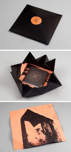 Creative Baker, Chirico, Design, Graphique, and Packaging image ideas & inspiration on Designspiration Corporate Design, Web Design Blog, Cd Packaging, Design Packaging, Pretty Packaging, Branding Design, Innovative Packaging, Folders, Buch Design