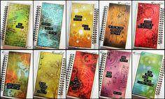 Distress Inks Art Journal