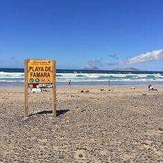 Playa de Famara - Das Surfer Paradies! #roadtrip #lanzarote #placetobe #nicetobehere