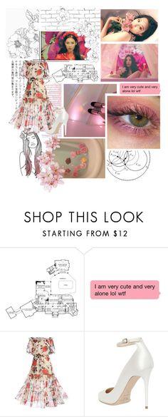 """Sunmi - Gashina"" by jina-7 on Polyvore featuring WALL, MAC Cosmetics, WithChic, Jimmy Choo, Pink, kpop, sunmi and gashina"