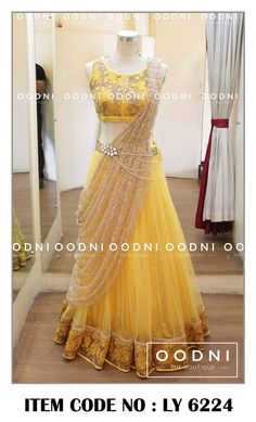 OODNI The Boutique Bridal #Lehenga <3