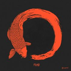 The beauty of imperfection  The ensō symbolizes absolute enlightenment, strength, elegance, the universe, and mu (the void). It is characterised by a minimalism born of Japanese aesthetics.  Creativity Path  | Zen | Koi | Enso